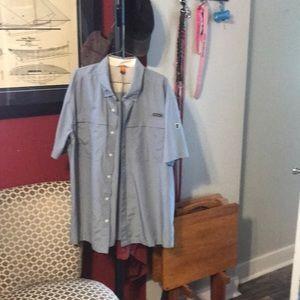 Eddie Bauer Guide Shirt Short Sleeve XXL